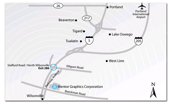 Corporate Map Wilsonville