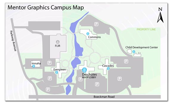 Campus Map Wilsonville