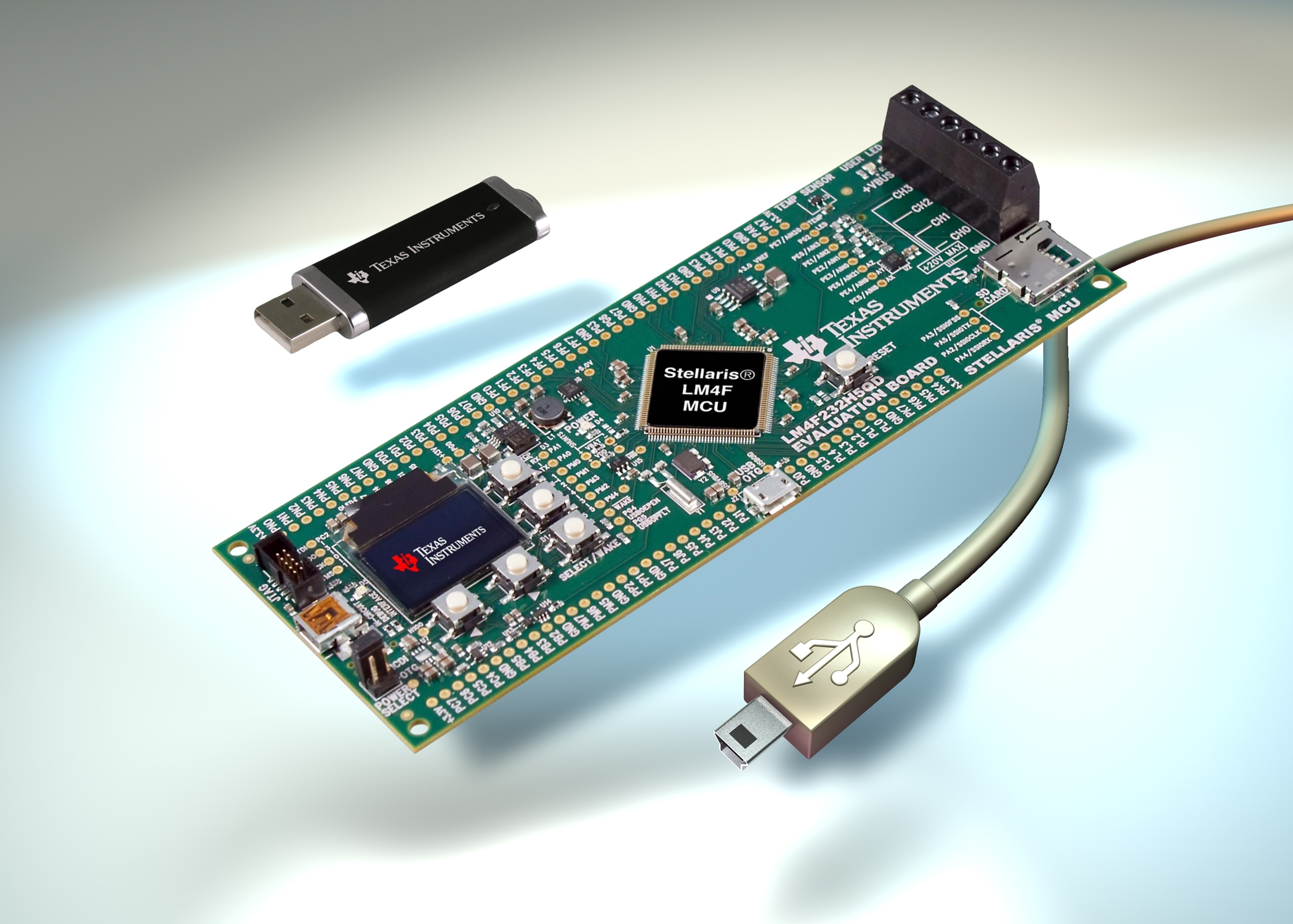 TI Stellaris ARM Cortex–M4 MCU